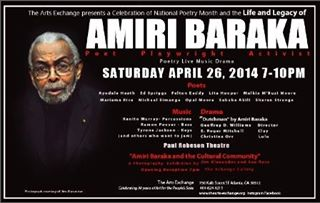 Amiri Baraka at the Arts Exchange